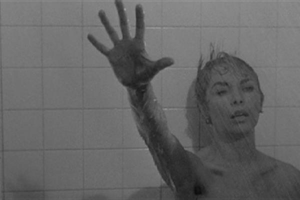 Psychose, analyse de la scène de la douche