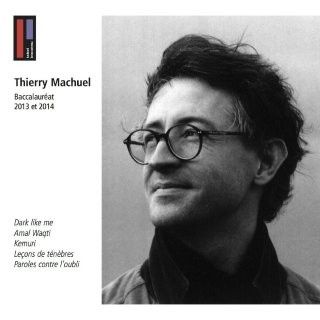 Thierry Machuel / Ensemble d'oeuvres BAC 2014